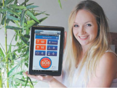 App to keep an eye on home cancer patients – Stirling Times, 30th July 2013