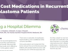 COSA Poster 2016 – High Cost Medications in Recurrent Glioblastoma Patients