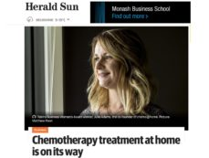 Chemo@home on its way to Melbourne