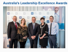 Julie Adams Wins Prestigous AIM – Australia's Leadership Excellence Award