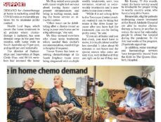Home chemo surge reported
