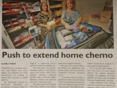 Push to Extend Home Chemo – Western Suburbs, 5th May 2015
