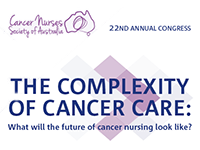 Cancer Nurses Society of Australia, Winter Congress 2019